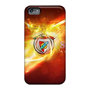 Best Hard Phone Covers For Apple Iphone 6 (sqA5024aHkR) Unique Design Realistic Sport Lisboa Benfica Skin