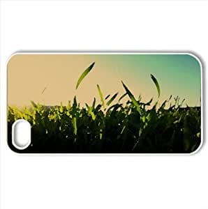 Grass Watercolor style Cover iPhone 4 and 4S Case (Summer Watercolor style Cover iPhone 4 and 4S Case)