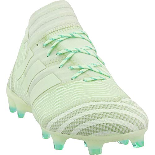 adidas Mens Nemeziz 17.1 Firm Ground Soccer Athletic Cleats Green 12.5 (Best Cleats For Grass)