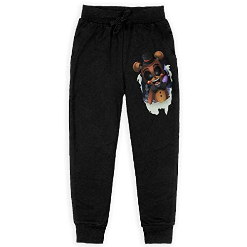 Reneealsip Toy Freddy Sonic Style Boys Print Drawstring Elastic Sweatpants Sport Jogger Pockets Kids