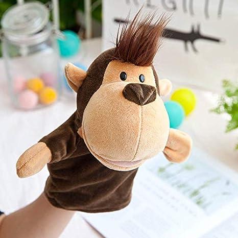 wwwl Juguete de Peluche Marionetas De Mano De Felpa De Animales Niños Lindos Juguetes De Peluche Elefantes