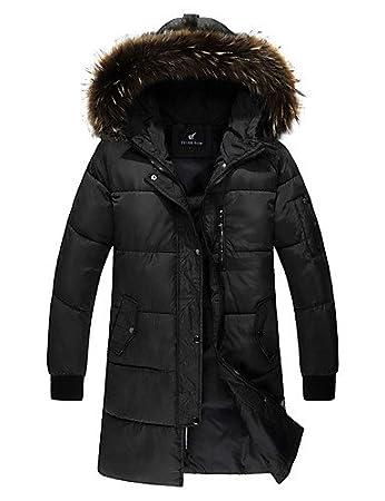 SWDFSDF Herren Gefüttert Mantel,Standard Einfach Ausgehen