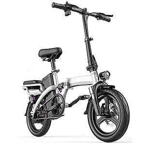 41rCgFJ0qEL. SS300 Folding Bike Elettrico, Display LCD 400W Del Motore Velocità Massima 25 Km / H, Sedile Regolabile, Portable Bicicletta…