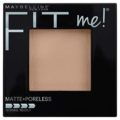Maybelline New York Fit Me Matte + Poreless Powder Makeup, Porecelain, 1 Count