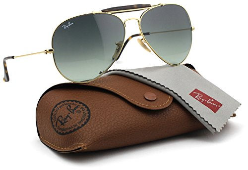 Ray-Ban RB3029 181/71 OUTDOORSMAN HAVANA Gold Frame / Grey Gradient Lens - Rb3029 Ray Ban