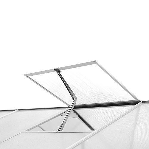 ECO LLC Automatic Vent Window Opener Solar Heat Sensitive Greenhouse Vent Auto Lift Thermofor