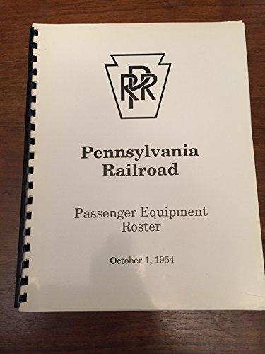 (Pennsylvania Railroad Passenger Equipment Roster 1954)