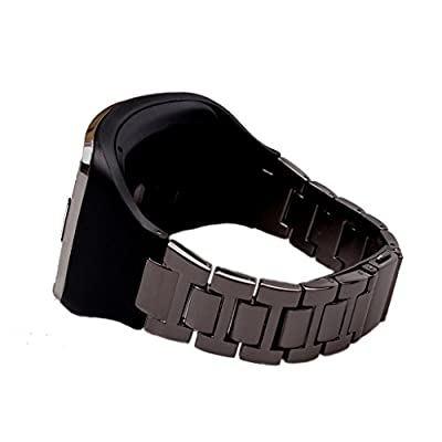 Stainless Steel Wrist Metal Watch Band For Samsung Gear S SM-R750 Replacement Wristband Bracelet Watchband Strap