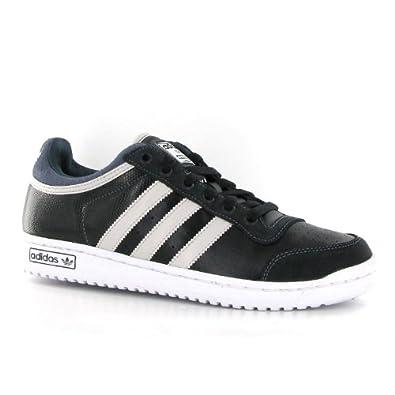 Adidas Top Ten Lo Black White Leather Mens Trainers Size 10 UK ... c285eab4e