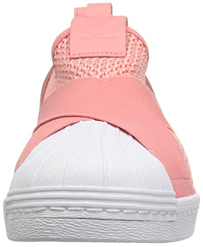 Adidas Originals Women's Superstar Slipon W Sneaker, Tactile Rose/Tactile Rose/White, 9 Medium US