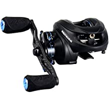 NEW KastKing Assassin Carbon Baitcasting Reel, Only 5.7 OZ, 16.5 LB Carbon Fiber Drag, 11+1 BB, Dual Brakes, Our Lightest Baitcaster Fishing Reel, Affordable!