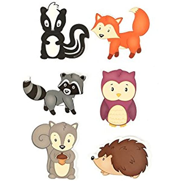 Renewing Minds #TooCute Jumbo Cutouts,10 Inches 6 Assorted Multi-Colored Designs 12 Pieces
