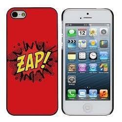 Comic Book Super Hero Zap iPhone 4/4s case