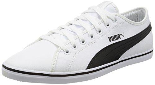 Puma Adulto Black Zapatillas Blanco Unisex White puma SL Puma 09 ELSU V2 Xqf46Xr