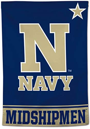 - US Naval Academy Midshipmen Vertical Flag 28x40 inches