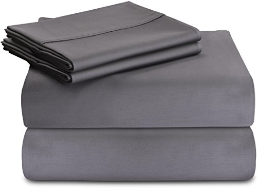 Premium Cotton Sheet Queen Grey product image
