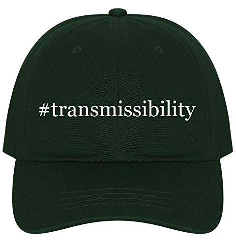 The Town Butler #Transmissibility - A Nice Comfortable Adjustable Hashtag Dad Hat Cap, Forest ()