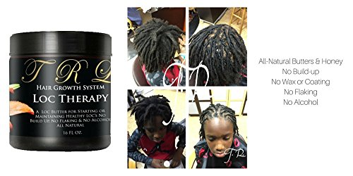 Long Lasting Hydrating Creamy - TRL Dread Loc and Long lasting Twist Butter (16 oz.) Creamy All-Natural Butter Raw Honey, Avocado, Mango, and Shea Butter