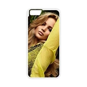 "C-EUR Customized Jennifer Lawrence Pattern Hard Phone Case For iPhone 6 Plus (5.5"")"
