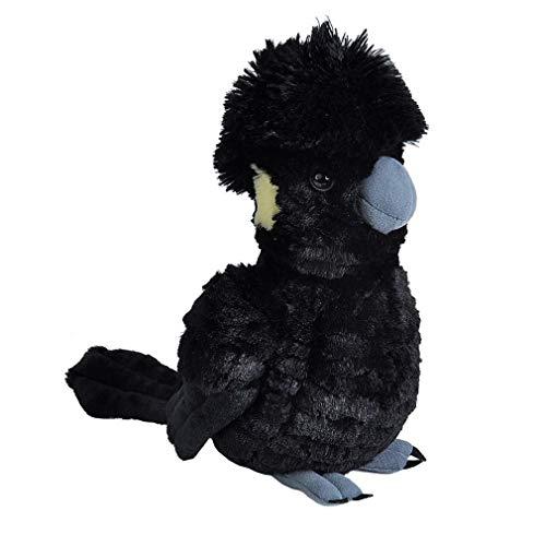 Wild Republic Yellow -Tailed Black Cockatoo Bird Stuffed Animal Plush Toy 11