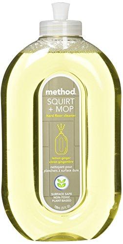Method Squirt & Mop Hard Floor Cleaner - Lemon Ginger - 25 - Cleaner Method Floor Hardwood