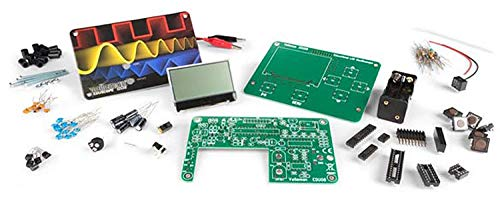 Velleman EDU08 Educational LCD Oscilloscope Starter Kit, 1 Grade to 12 Grade, 3.14