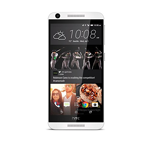 HTC Desire 626S No Contract Phone White (Virgin Mobile) (Htc Mobile Telephone)