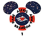 Personalized Disney Life Saver Magnet. Life Ring Mickey Inspired Magnet for Disney Cruise with your Name