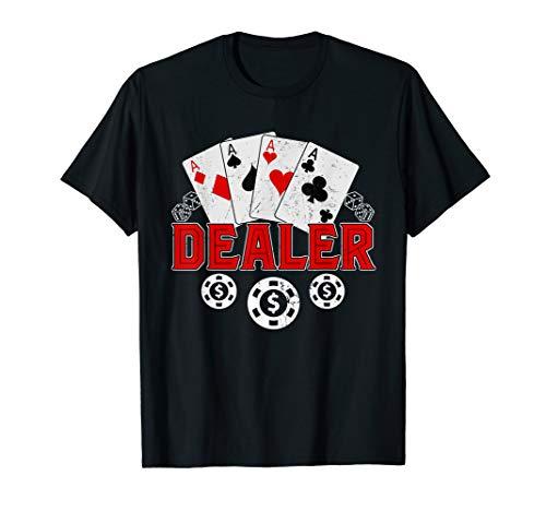 Gambling Man Halloween Costumes - Casino Dealer Halloween Costume Shirt Poker