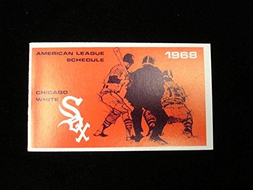 1968 Chicago White Sox Original Pocket Flip Schedule - 4