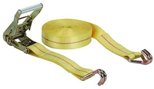 Mann Ratchet Tie Down Straps 4 Pack J Hook 27