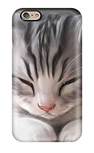 Sanp On Case Cover Protector For iphone 4 4s (cute Cat Sleeping)