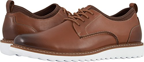 (G.H. Bass & Co. Men's Dirty Buck 2.0 Plain Toe Leather Tan Burnished Full Grain 7.5 D US)
