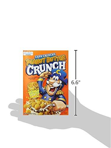 030000065075 - Cap'N Crunch, Peanut Butter, 12.5-Ounce (Pack of 14) carousel main 6