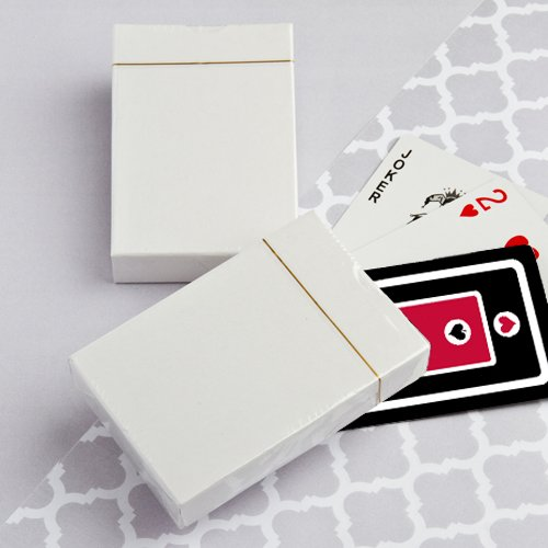 Perfectly Plain Collection Playing Card Favors, 200
