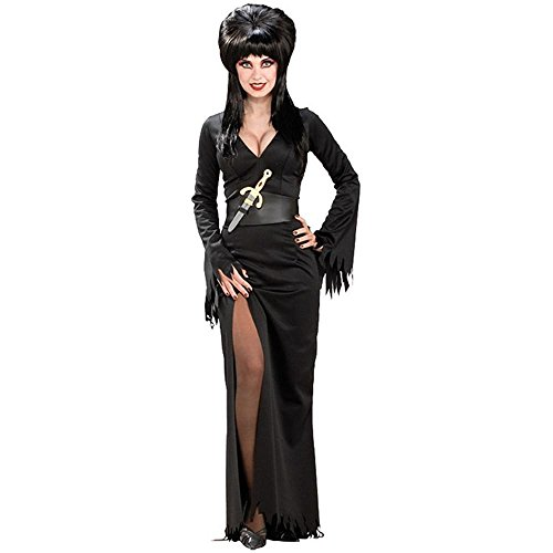 [Elvira Costume - Standard - Dress Size 14-16] (Halloween Costumes Elvira)