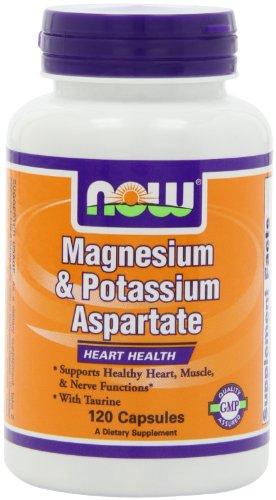 NOW Magnesium Potassium Aspartate Capsules
