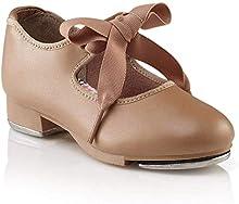 Capezio Women's N625 Jr. Tyette Tap Shoe, Caramel, 6 M US
