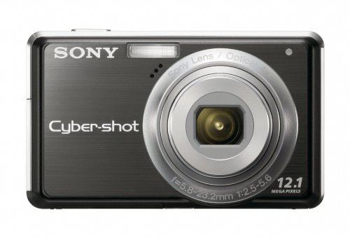 Sony Cybershot DSC-S980 12MP Digital Camera with 4x Optical Zoom with Super Steady Shot Image Stabilization ()