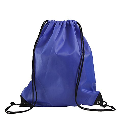 - LIHI Bag 10 Pack Ripstop Drawstring Backpack,Party Favors Treat Bags,Royal Blue