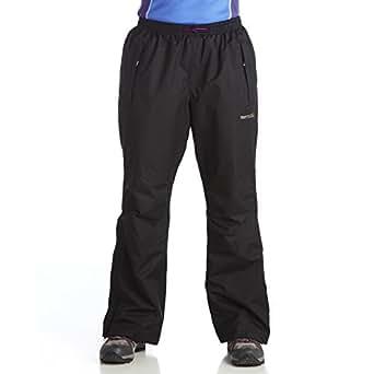 Regatta Great Outdoors Womens/Ladies Amelie II Short Leg Waterproof Overtrousers (XL) (Black)