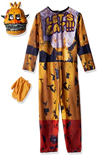 Rubie's Costume 630621-M Boys Five Nights at Freddy's Nightmare Chica The Chicken Costume, Medium, ()