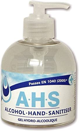 A H S Alcohol Hand Sanitiser By Clover 222 300ml Amazon Co Uk