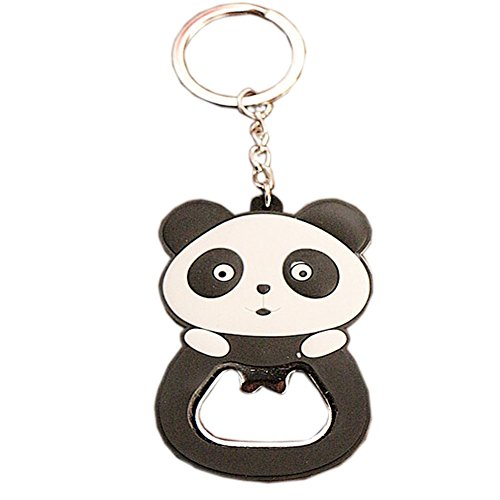 """Lovely Panda Bottle Opener Keychain Portable Beer/Soda/Wine Bottle Opener(2.3"""") For Sale"""