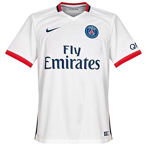 Nike Boys Paris Saint-Germain Away Stadium Jersey [FOOTBALL WHITE] – DiZiSports Store