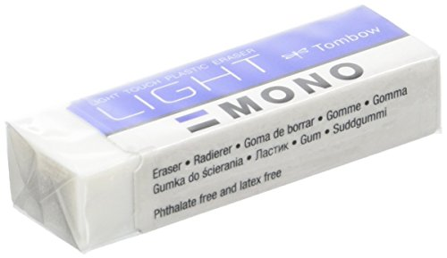 Tombow Mono Light Special–Eraser for Drywipe Delicate, Pack of 40, 13g by Tombow (Image #1)