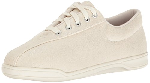easy-spirit-womens-ap1-walking-shoe-off-white-fabric-12-m-us