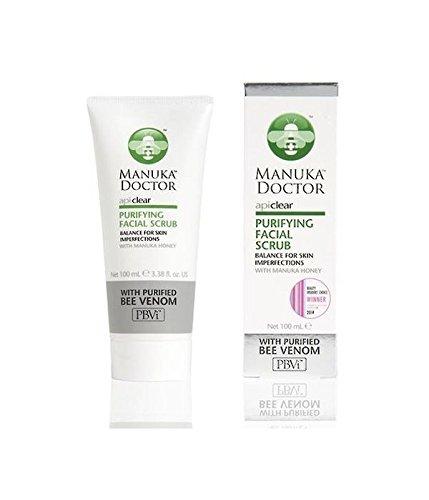 (2 PACK) - Manuka Dr Apiclear Purifying Face Scrub | 100ml | 2 PACK - SUPER SAVER - SAVE MONEY