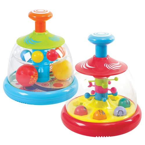 Kaplan Early Learning Company Spinning Ball Domes (Set of 2)