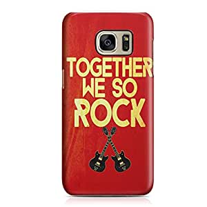 Samsung Galaxy S7Edge Case Together we Sleek Design Durable Samsung Galaxy S7Edge Cover Wrap Around